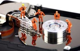 一分钟就修好了出现坏道的硬盘?