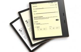 全新的Kindle Oasis可让您调整夜间读数的色温