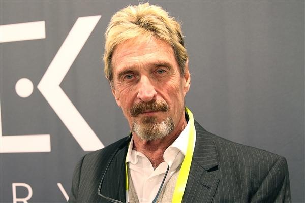 杀毒软件之父迈克菲自杀时已破产生前狂投1亿美元买豪宅