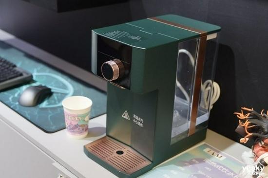 IAM即热饮水机亮相ChinaJoy颜值与性能兼得